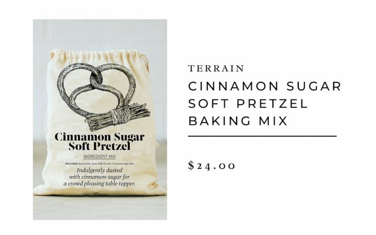 Cinnamon Sugar Soft Pretzel Baking Mix