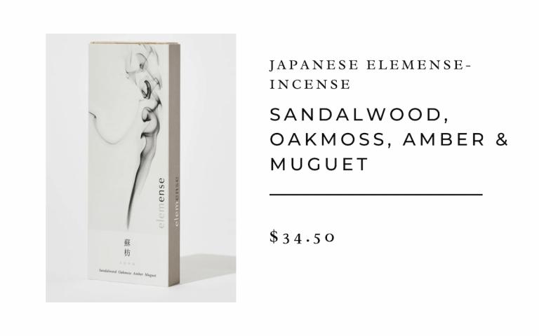 Japanese Elemense Incense