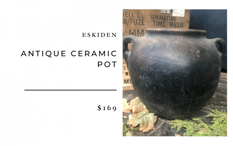 Eskiden Antique Ceramic Pot