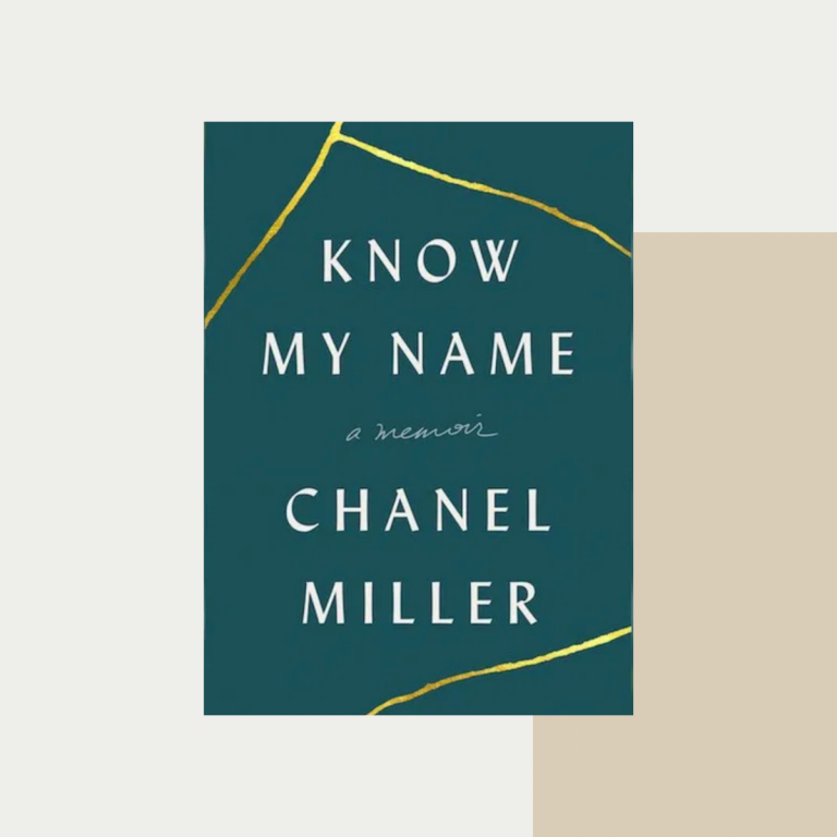 Know my name chanel miller