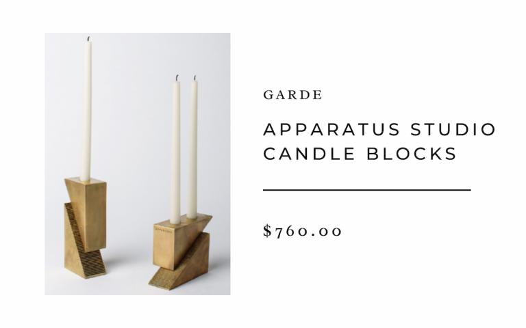 Apparatus Studio Candle Blocks