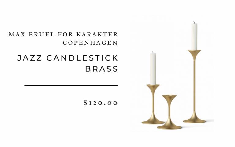 Max Bruel for Karakter Jazz Candlestick