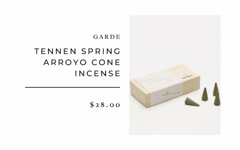 Tennen Spring Arroyo Cone Incense