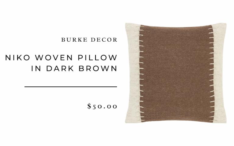 Burke Decor Niko Woven Pillow