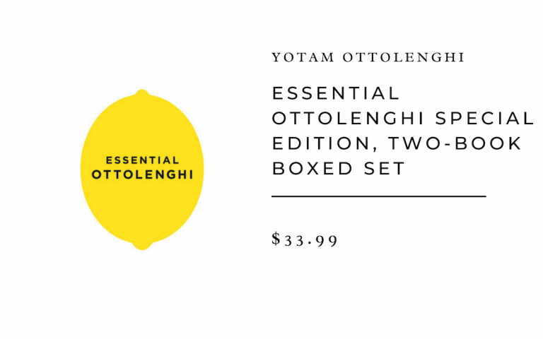Yotam Ottolenghi Essential Ottolenghi Special Edition, Two-Book Boxed Set