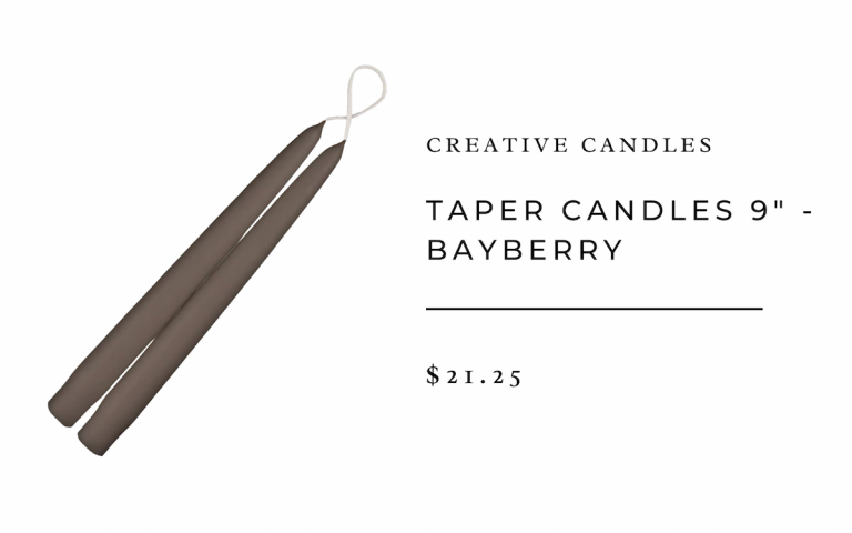 Creative Candles Taper Candles