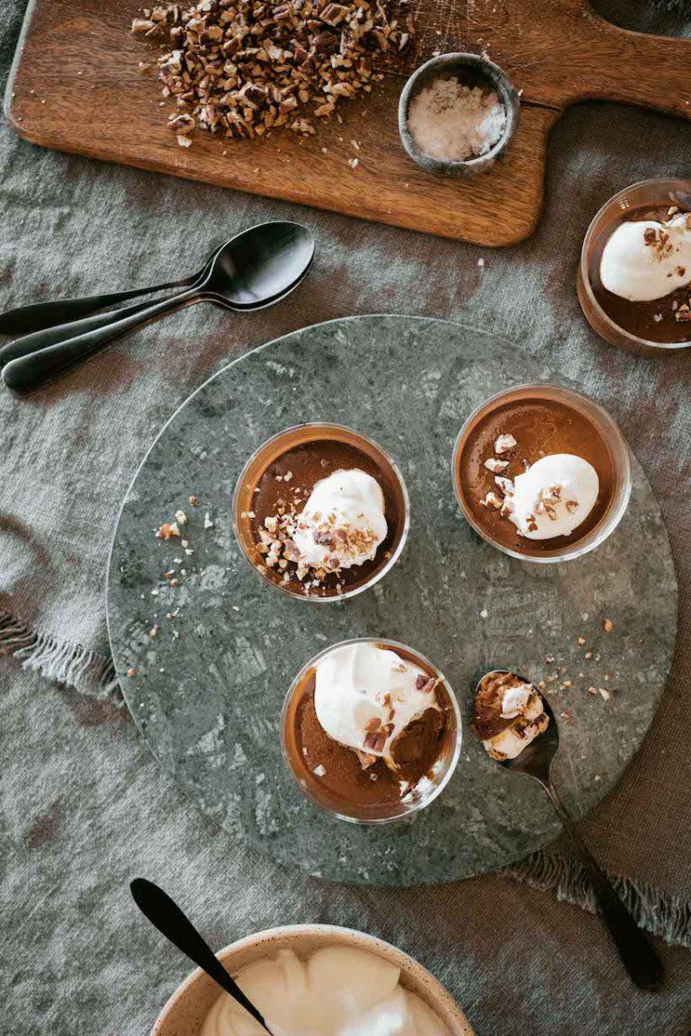 Salted Caramel Pots de Creme recipe