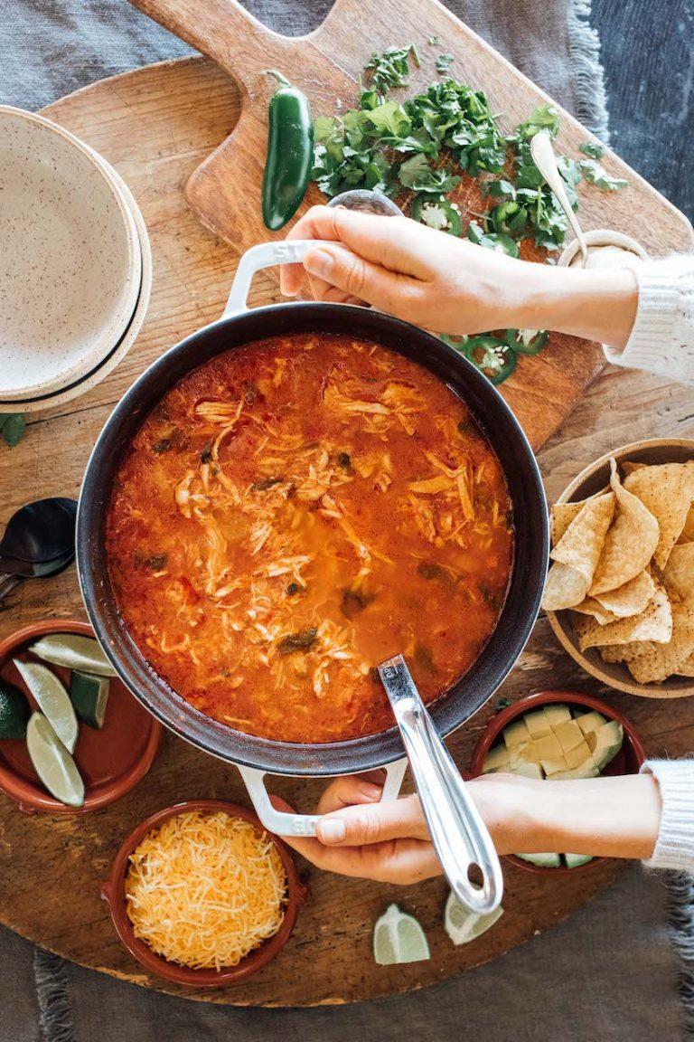 best mexican chicken tortilla soup