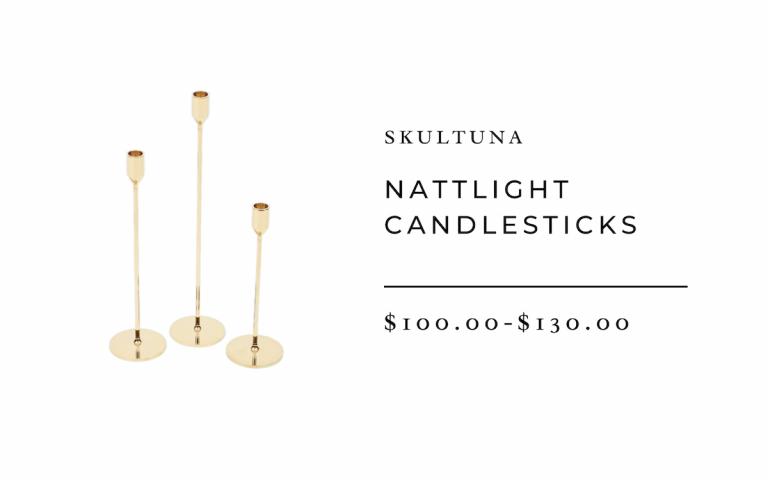Skultuna Nattlight Candlesticks