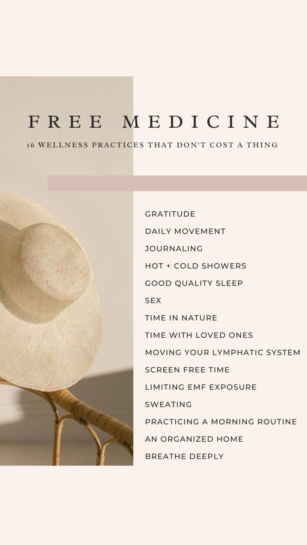free medicine