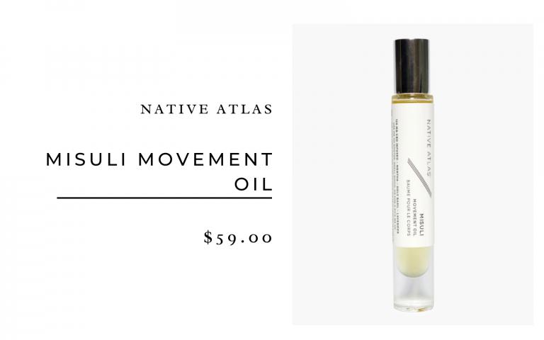 Native Atlas Misuli Movement Oil