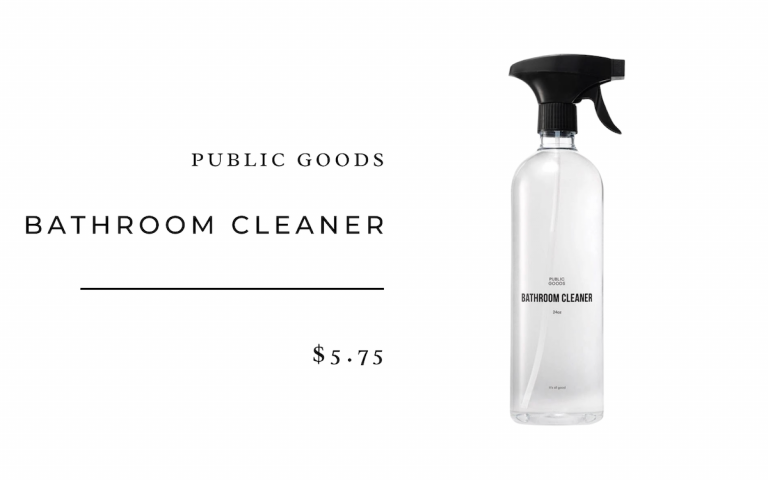Public Goods Bathroom Cleaner
