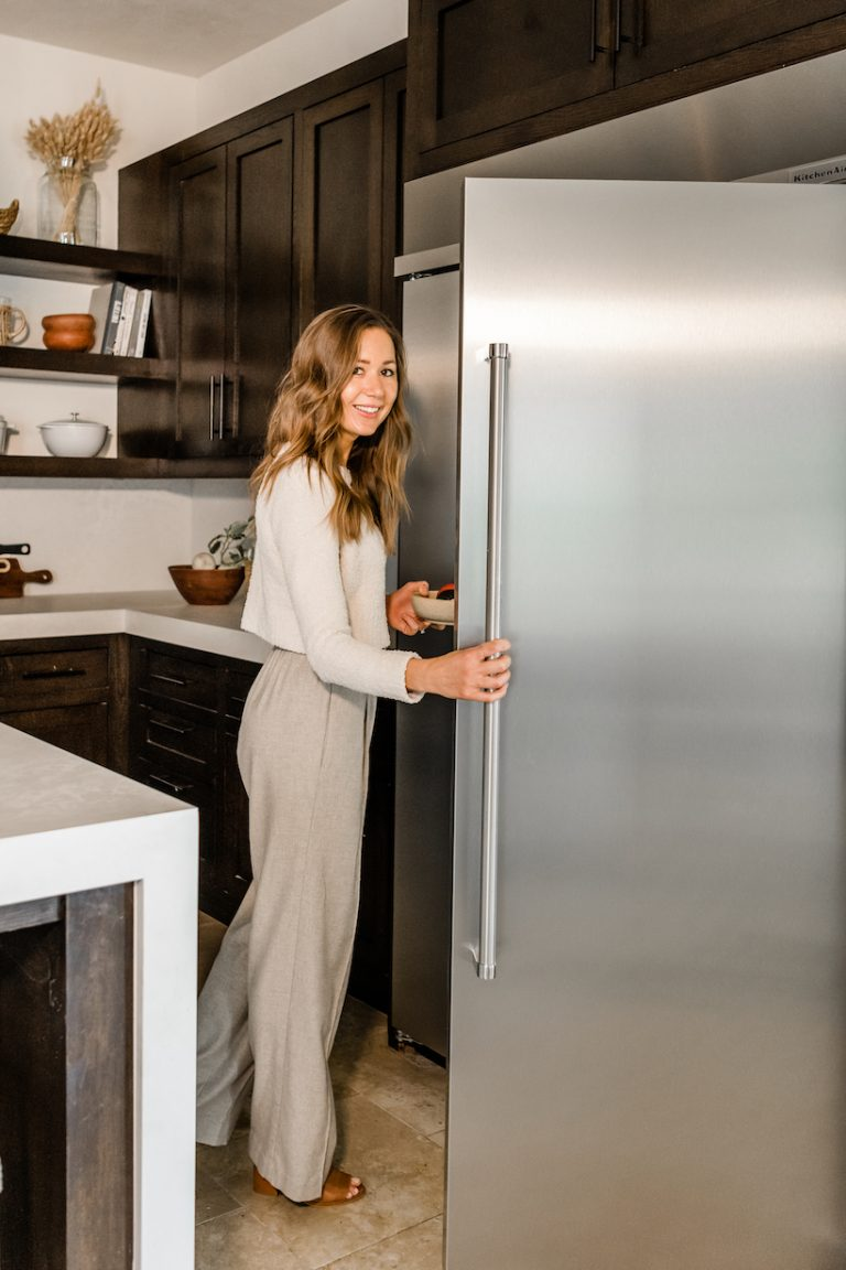 camille styles in kitchen-kitchenaid refrigerator