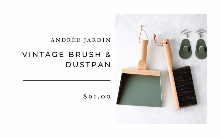 Andrée Jardin Vintage Brush & Dustpan