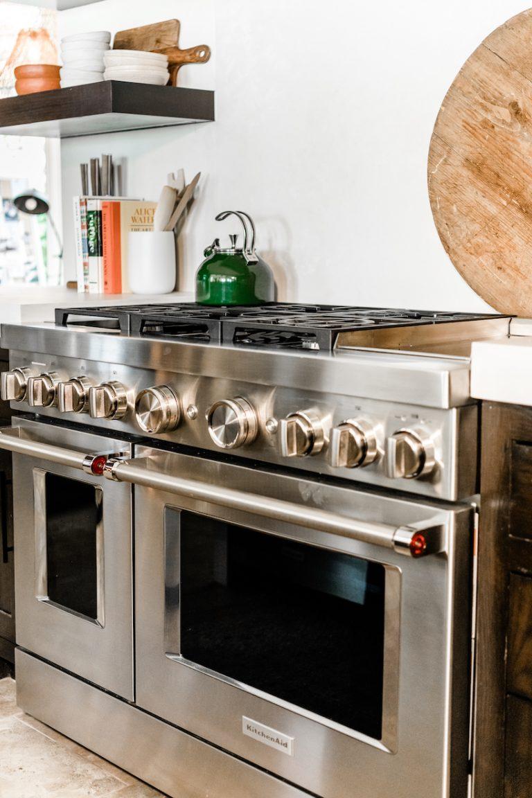 kitchenaid commercial style range