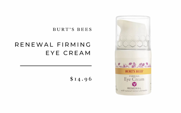 Burt's Bees Renewal Firming Eye Cream