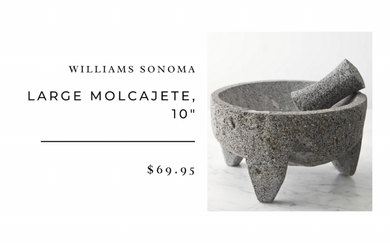 Williams Sonoma Large Molcajete