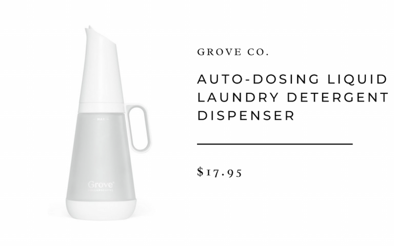 Grove Co. Auto-Dosing Liquid Laundry Detergent Dispenser