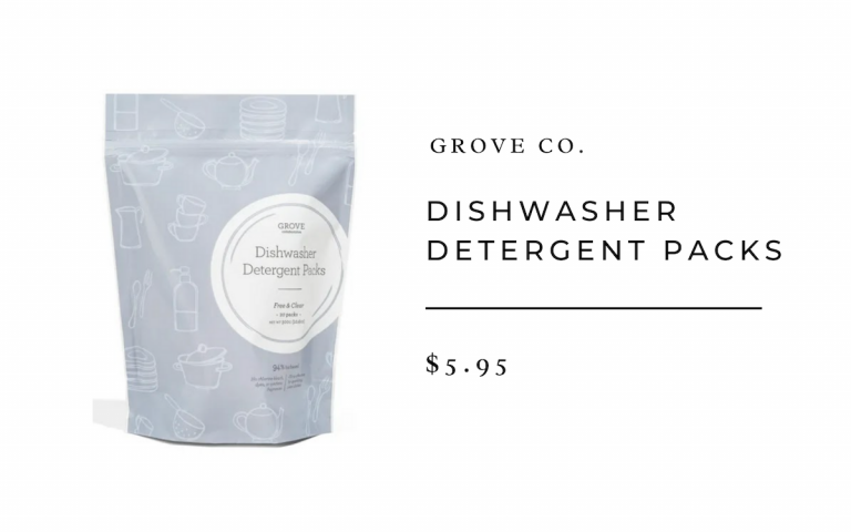 Grove Co. Dishwasher Detergent Packs