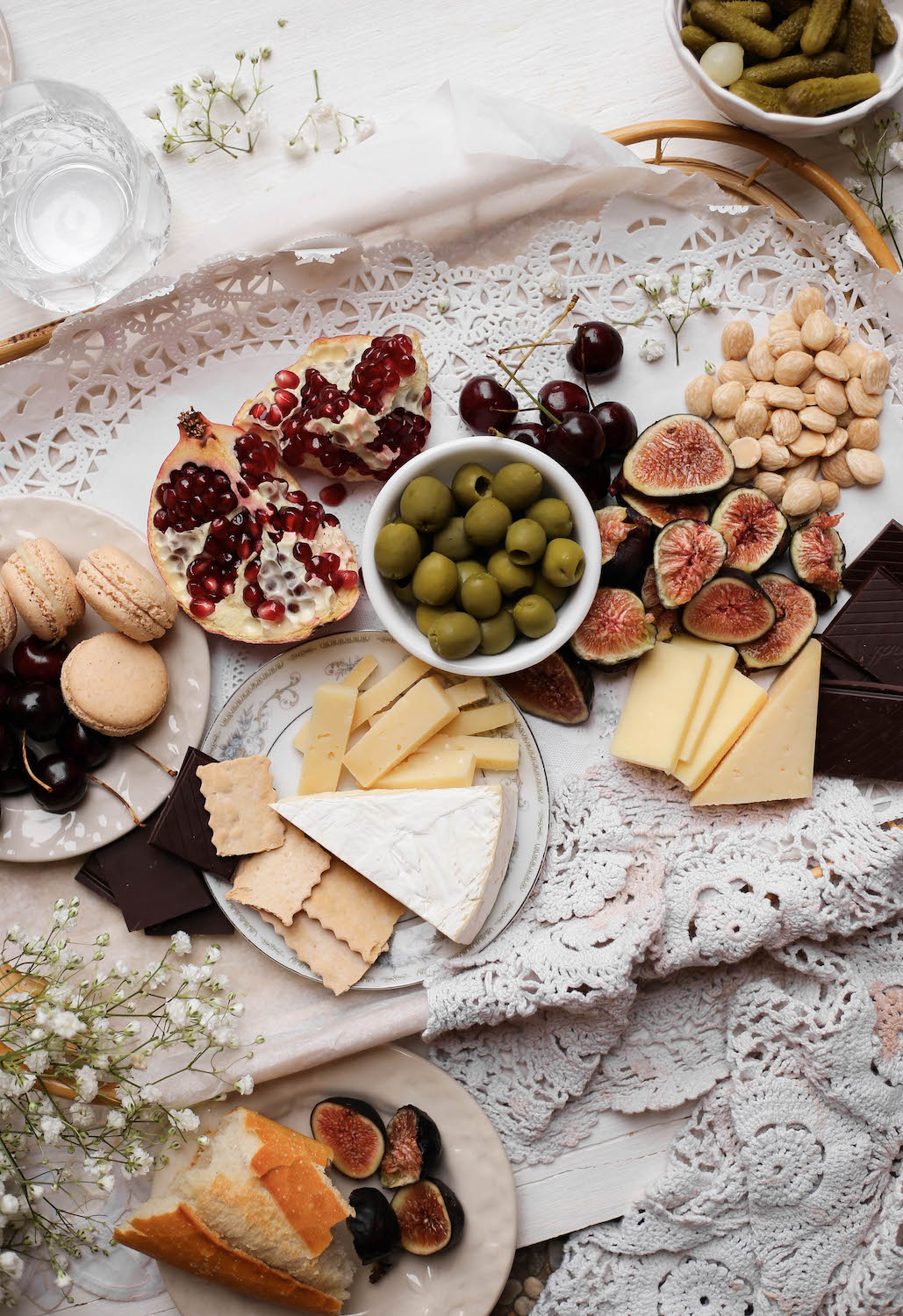 valentines day cheeseboard for two - small batch cheeseboard