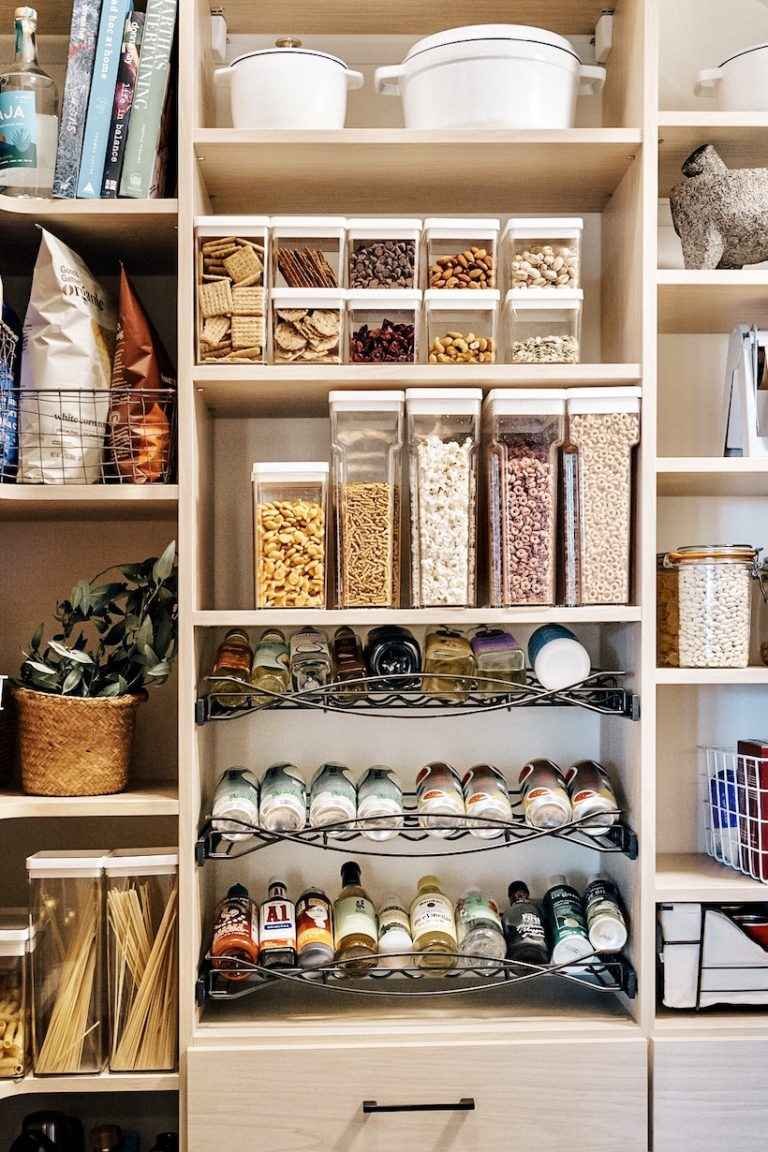 Camille Styles pantry organization system