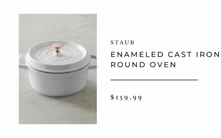 Staub Enameled Cast Iron Round Oven