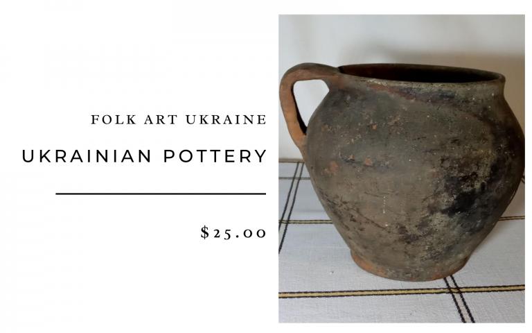 Folk Art Ukraine Ukrainian Pottery