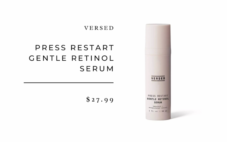 Versed Press Restart Gentle Retinol Serum