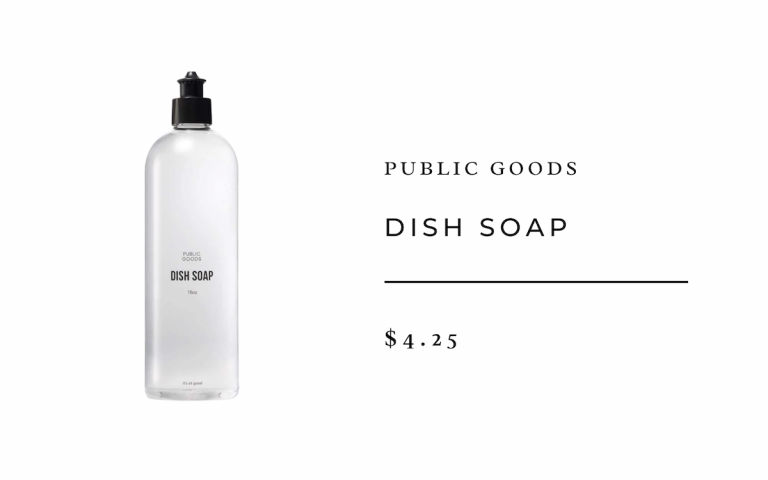 Public Goods Dish Soap