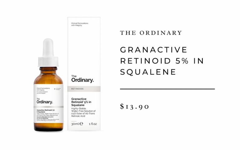 The Ordinary Granactive Retinoid 5% in Squalene