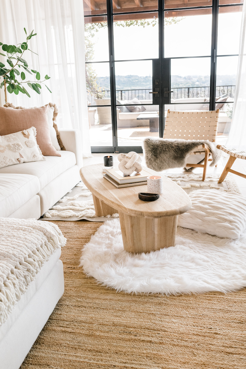 Neutral Living Room Ideas From Camille, Neutral Living Room