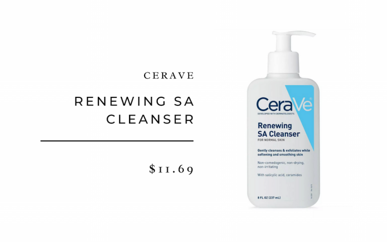 CeraVe Renewing SA Cleanser
