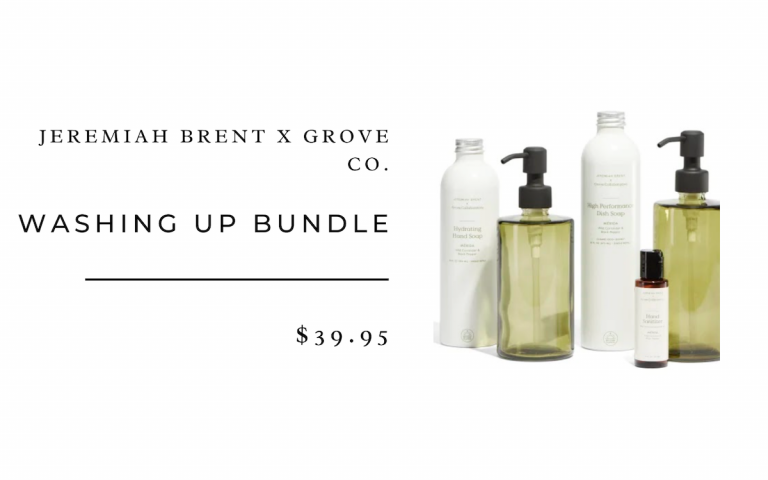 Jeremiah Brent x Grove Co. Washing Up Bundle