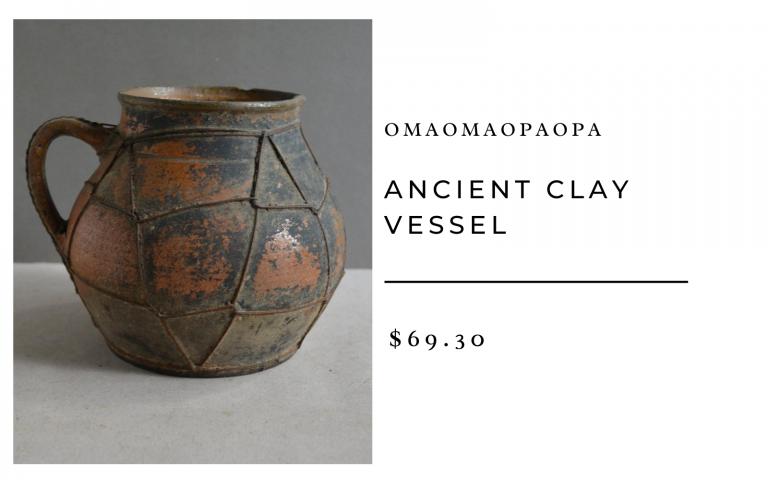 OmaOmaOpaOpa Ancient Clay Vessel