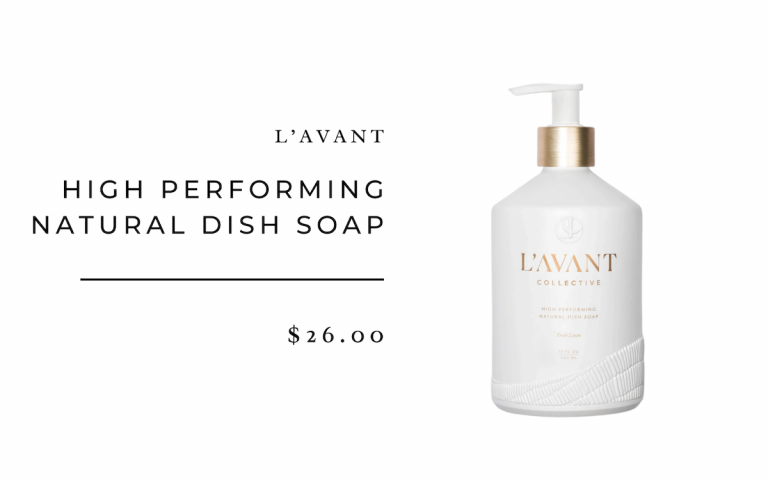 L'Avant High Performing Natural Dish Soap