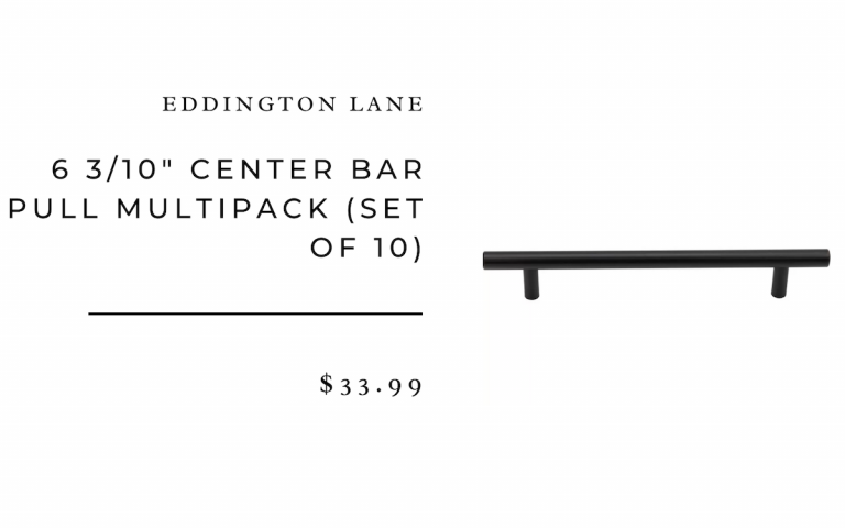 "Eddington Lane 6 3/10"" Center Bar Pull Multipack (Set of 10)"