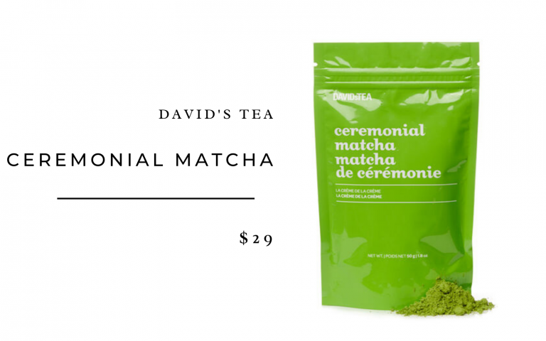 David's Tea Ceremonial MatchaDavid's Tea Ceremonial Matcha