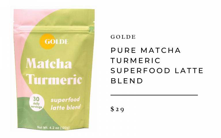 Golde Pure Matcha Turmeric Superfood Latte Blend