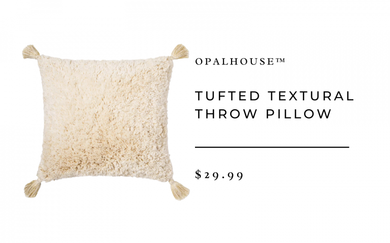 Tufted Textural Throw Pillow - Opalhouse™
