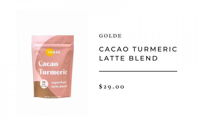 golde cacao turmeric blend