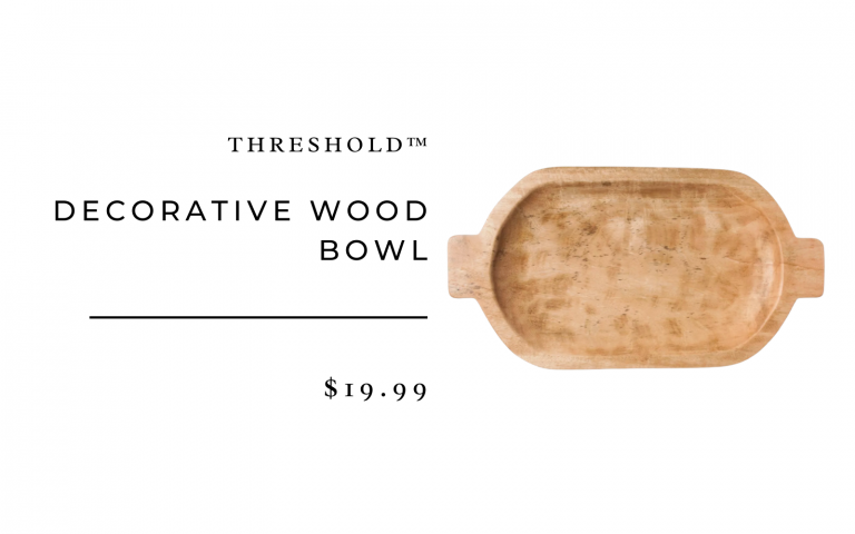 Decorative Wood Bowl - Threshold™