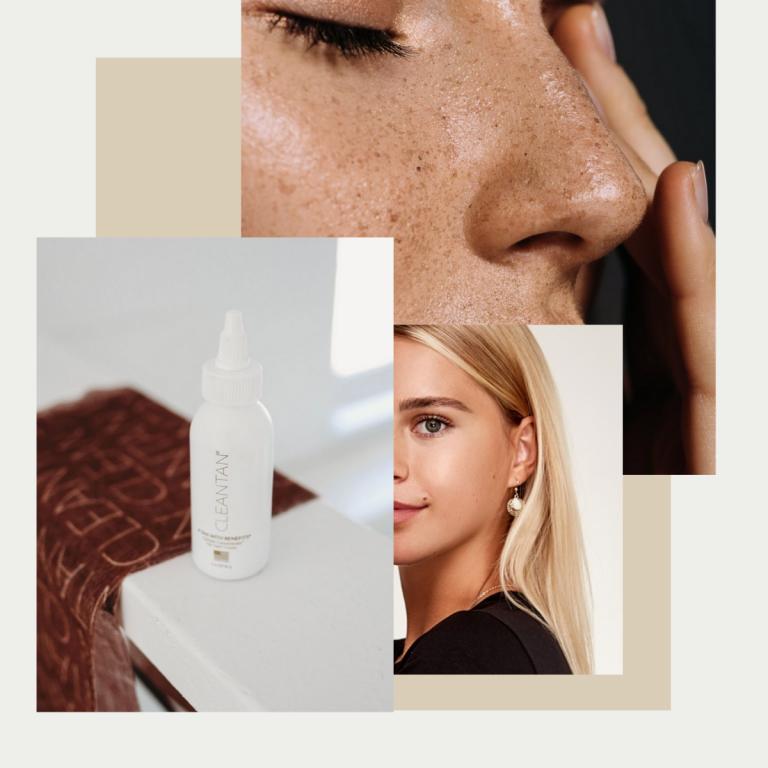 clean drops face tanner, nontoxic