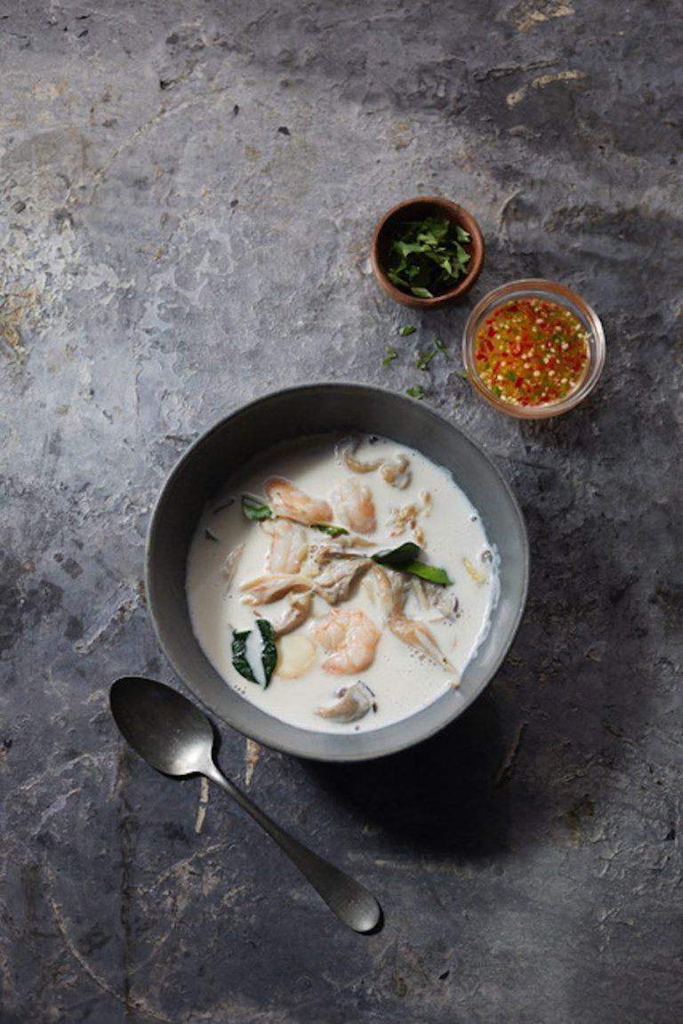 Coconut Soup (Tom Kha Kai) from Thai Fresh in Austin