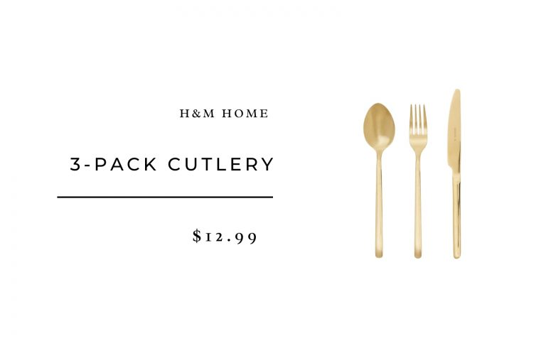 H&M Home 3-pack Cutlery