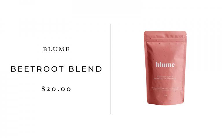 blume beetroot blend latte
