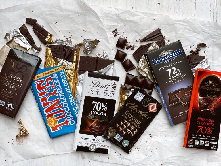 I Tried 6 Grocery Store Dark Chocolate Bars and This is the One I'll Keep in My Candy Drawer - Chocolate Bar Taste Test