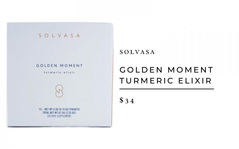 Solvasa Golden Moment Turmeric Elixir