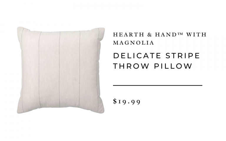Delicate Stripe Throw Pillow - Hearth & Hand™ with Magnolia