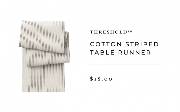 Cotton Striped Table Runner - Threshold™