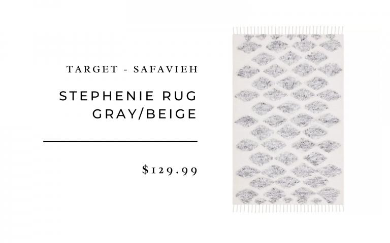 Target Safavieh Stephenie Rug Gray/Beige
